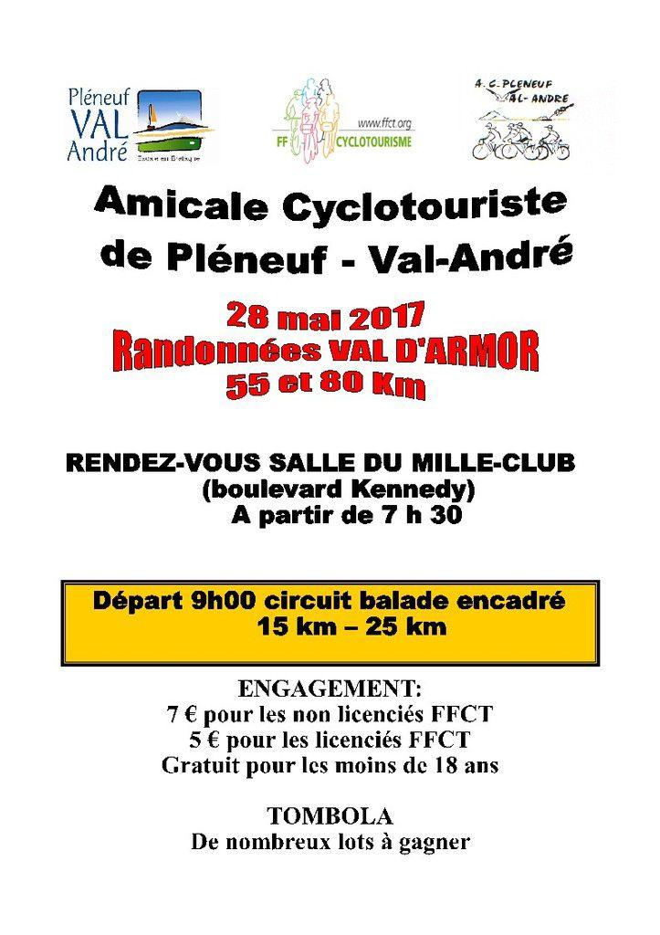randonnée cyclo de Pléneuf Val André