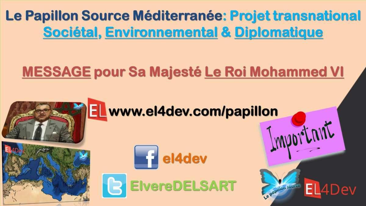 Le Papillon Source Méditerranée EL4DEV