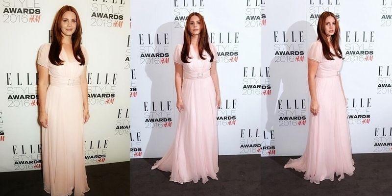 Lana Del Rey présente lors des Elle Style Awards à Londres.
