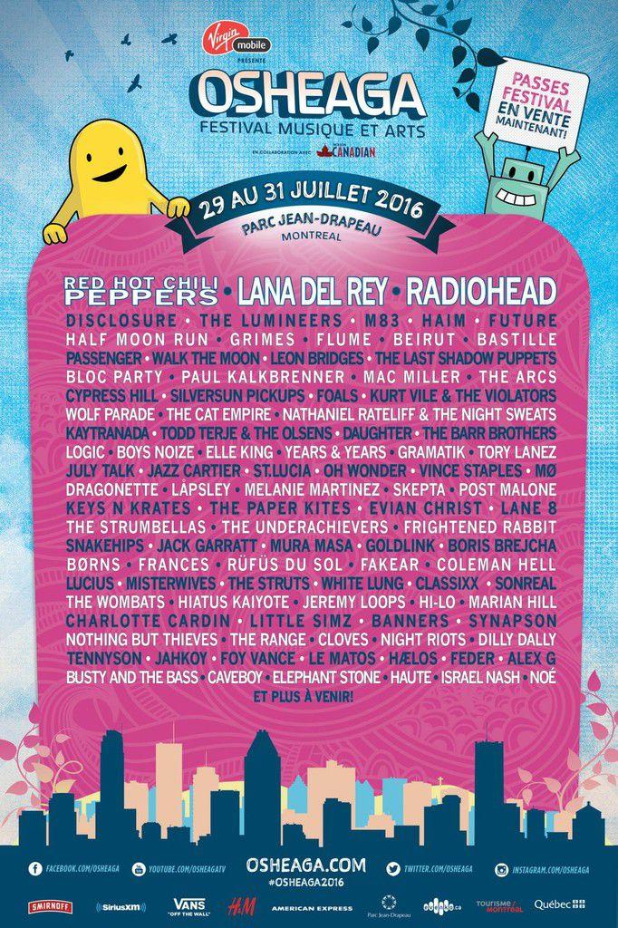Lana Del Rey annoncée au Festival Osheaga 2016 !