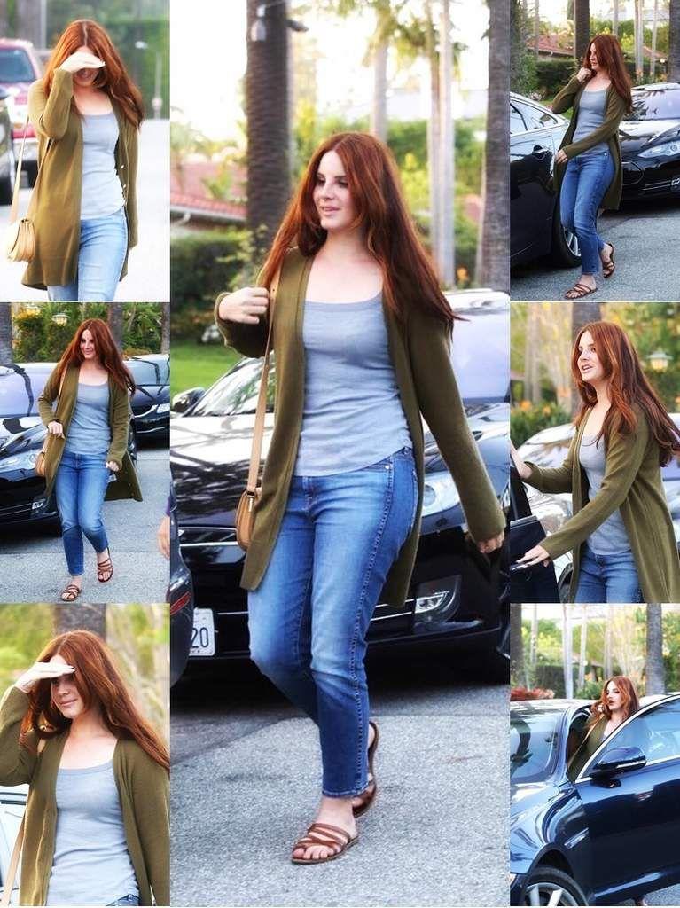 Lana Del Rey dans les rues de Beverly Hills !
