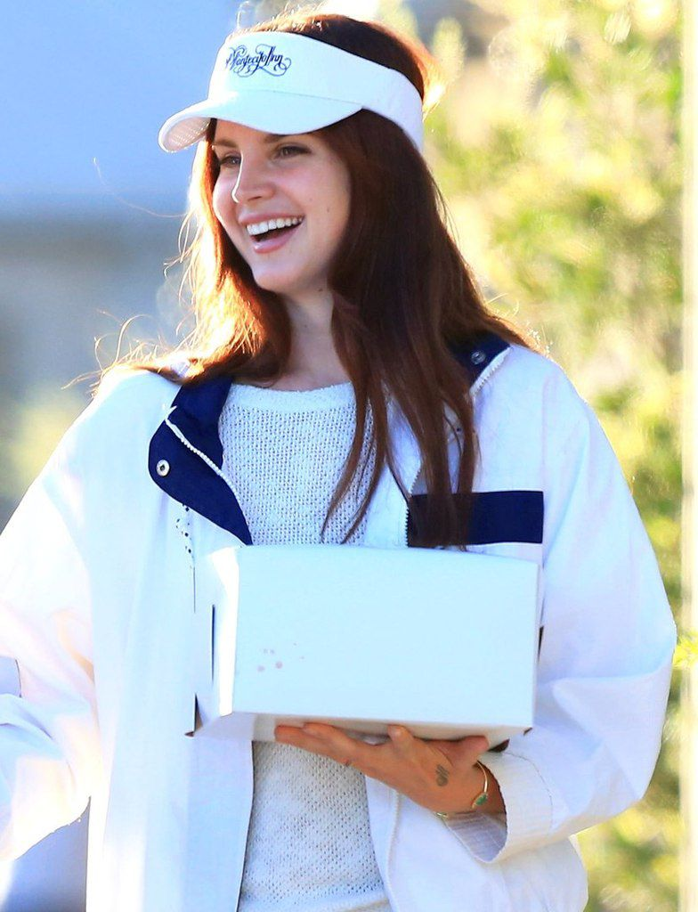 Lana Del rey à Los Angeles