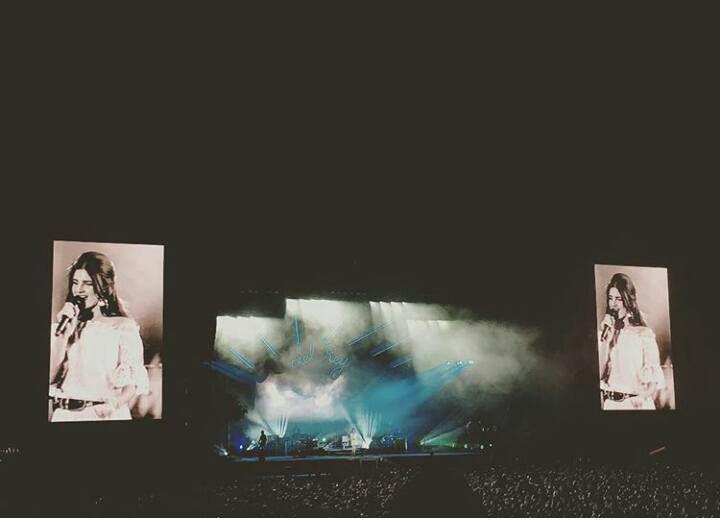 Lana Del Rey au festival Osheaga à Montréal (30/07/2016)
