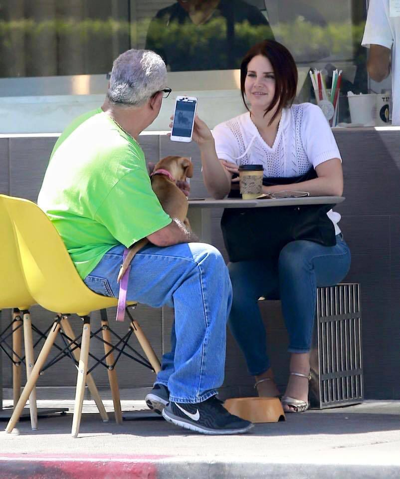 Lana Del Rey à Los Angeles (22/08/2016)