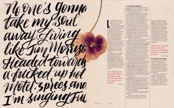 Lana Del Rey en couverture du magazine mexicain &quot&#x3B;Marvin&quot&#x3B;