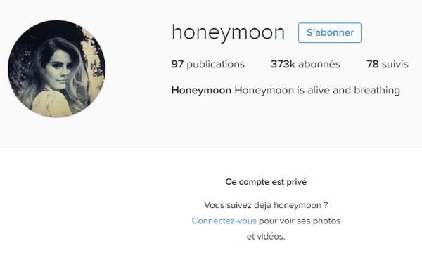 Lana Del Rey marque la fin d'Honeymoon