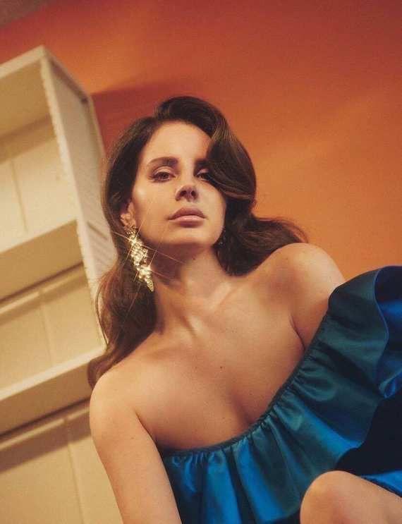 Lana Del Rey en couverture du magazine &quot&#x3B;DAZED and confused&quot&#x3B;