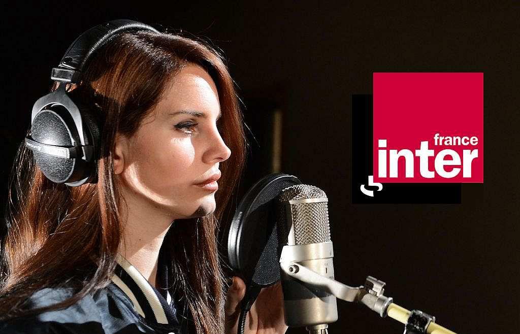 Lana Del Rey en live sur France Inter
