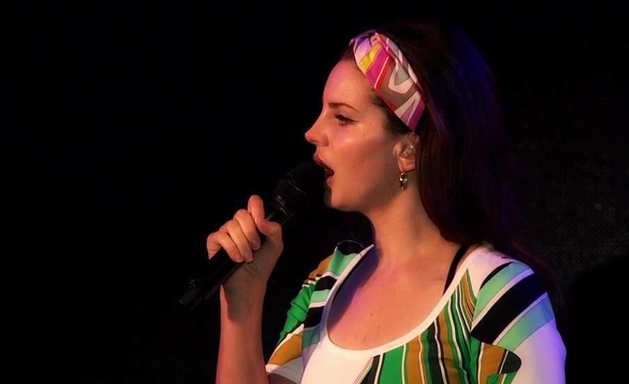 Lana Del Rey pour le show de BBC Radio 1 Big Weekend