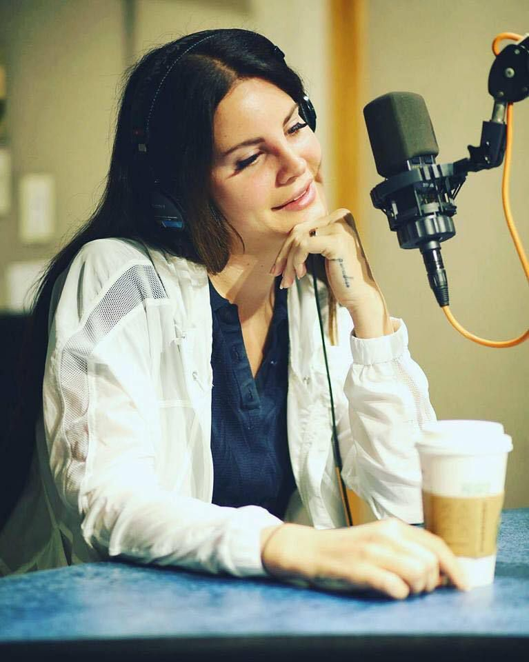 Lana Del Rey à la radio KROC (31/07/2017)