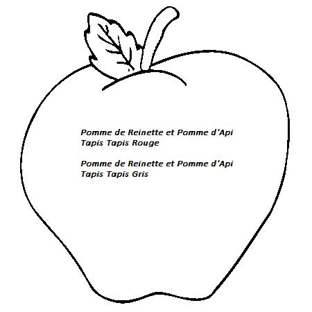 Pomme de reinette et pomme d 39 api chez c line assistante - Pomme de reinette et pomme d api tapis tapis rouge ...