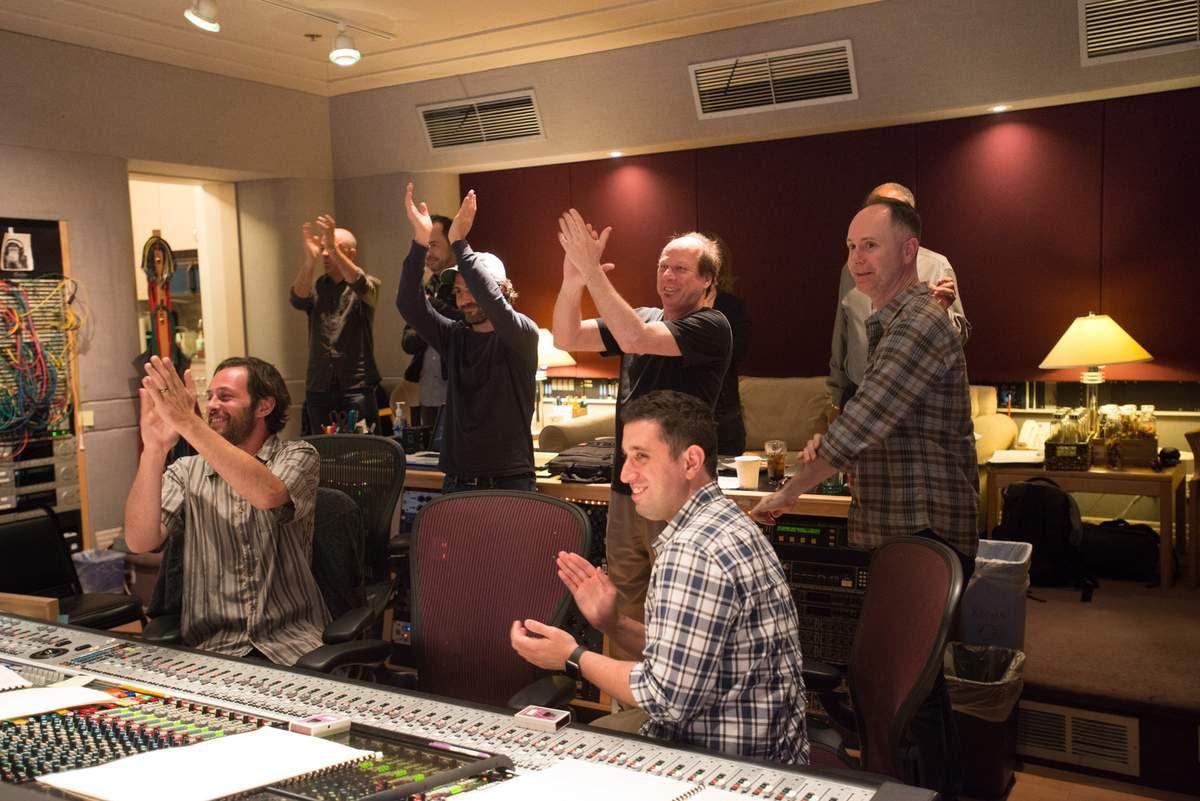 Pixar Piper Scoring Session
