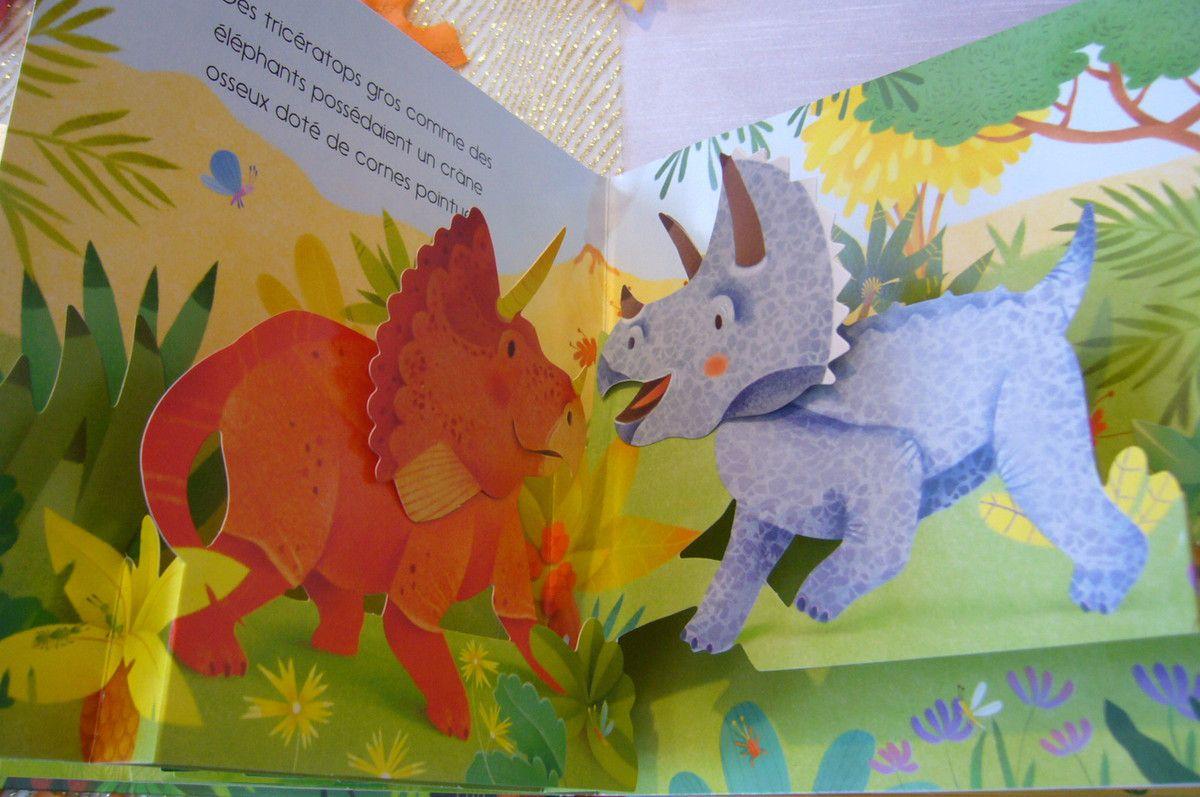 Mon livre pop - up Les dinosaures