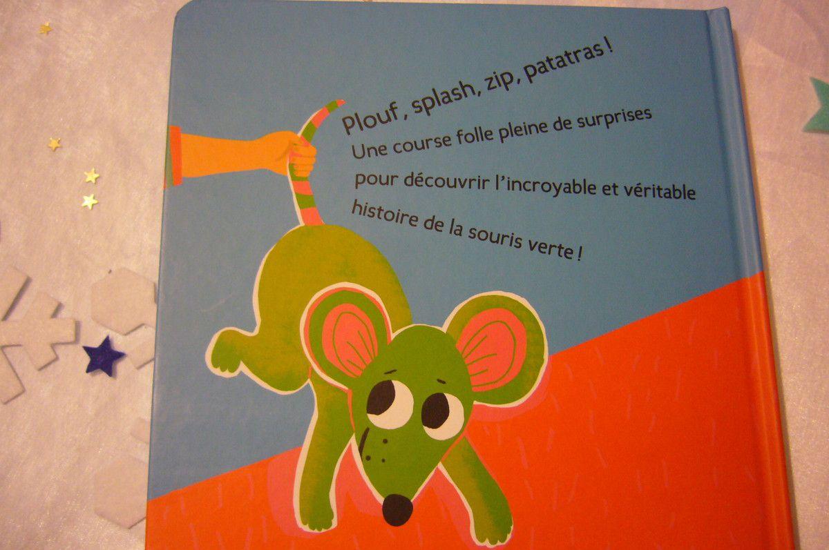 L'incroyable et véritable histoire de la souris verte - Editions Casterman
