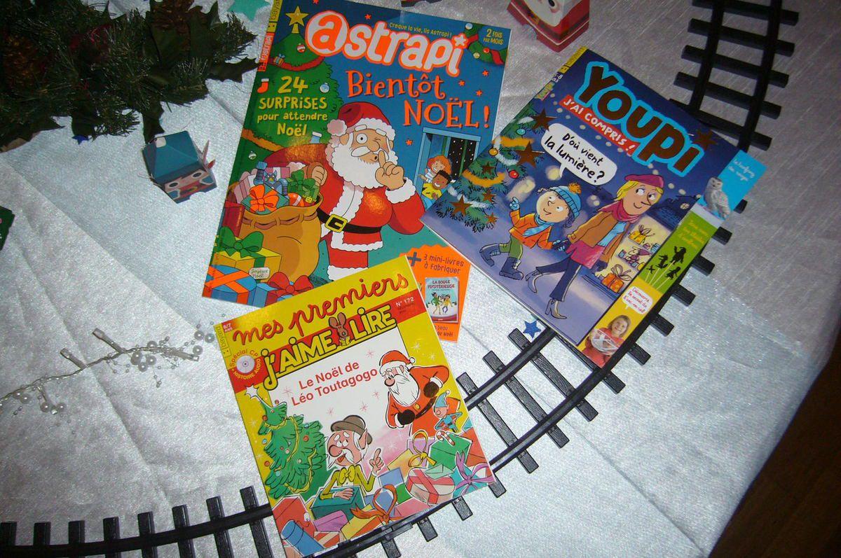 Notre sélection de Magazines pour attendre Noël  !!!