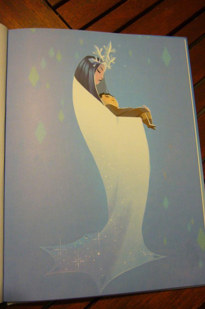 La Reine des neige d'après le conte original de Hans Christian Andersen avec les Editions Lito