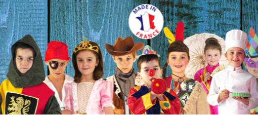 Après les jouets en carton, Wiplii vous présente leurs costumes pour enfants !