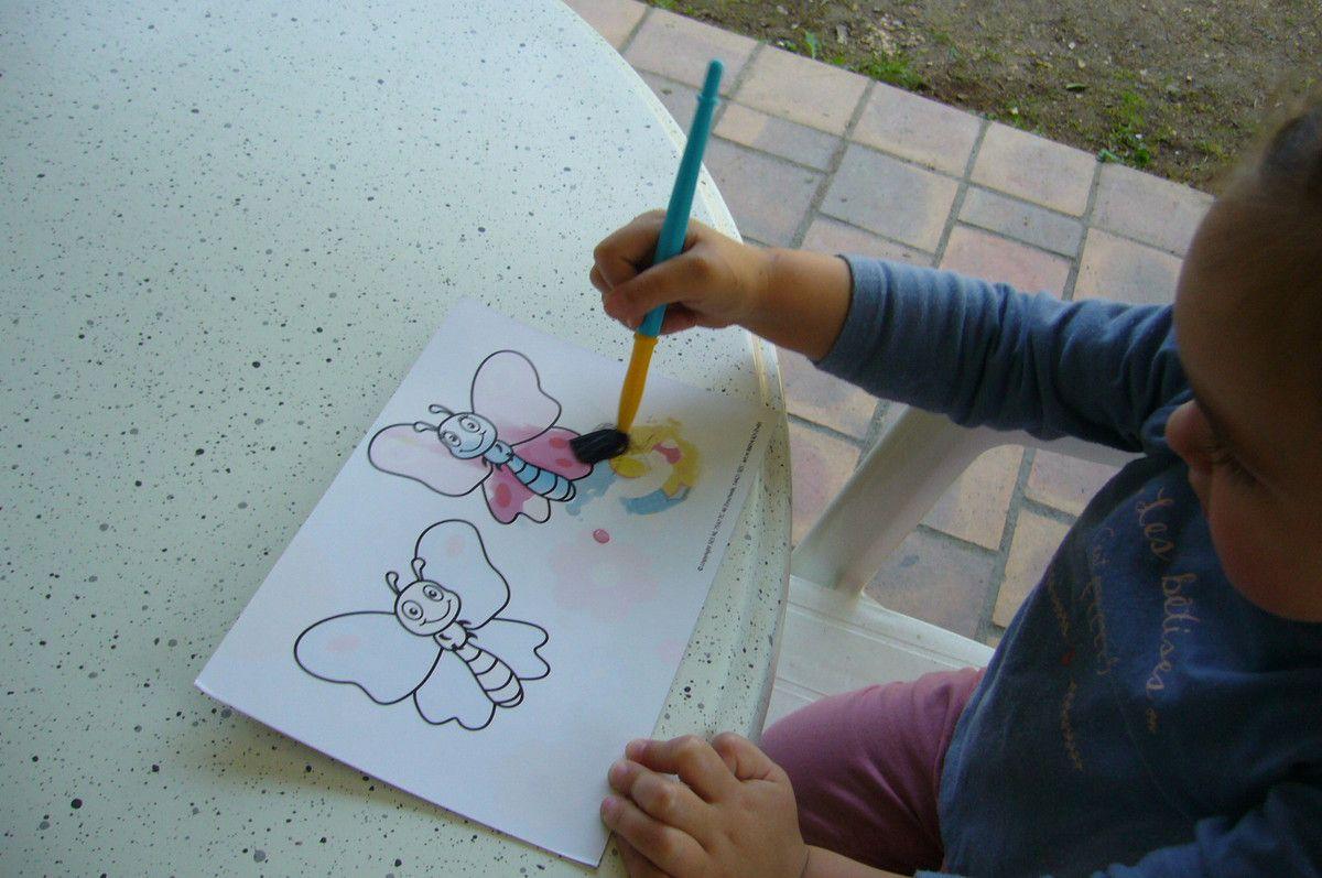 Fabuleux Le kit ma première peinture à l'eau - Activité manuelle avec SES  BS41