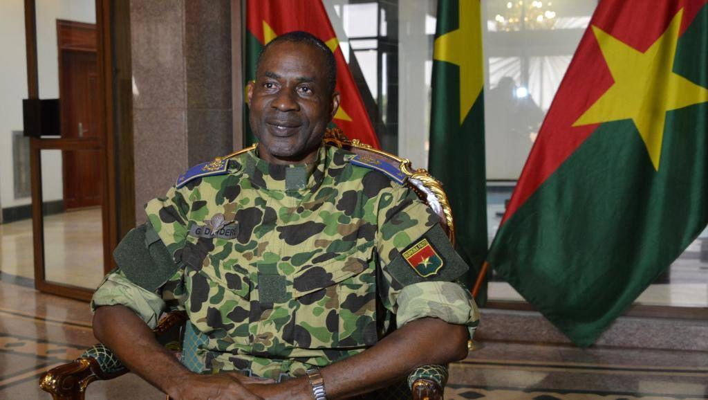 Le Général de brigade Gilbert Diendéré, ancien chef d'état-major particulier de l'ancien président Blaise Compaoré