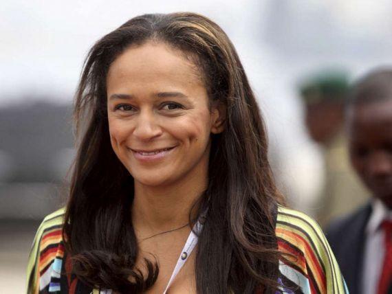 fille du président José Eduardo dos Santos, Isabel