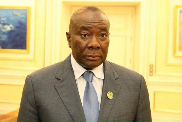 président de l'Assemblée Nationale, Abdou Karim Meckassoua