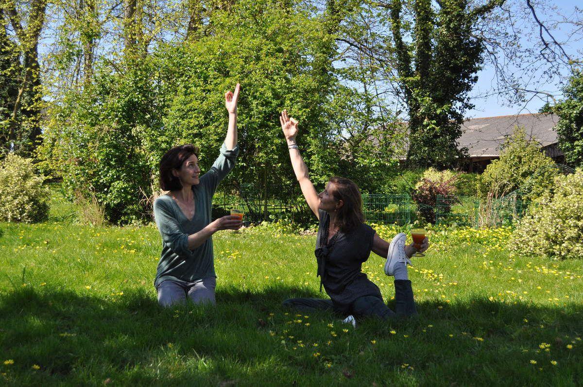 Yoga, méditation, marche et cuisine de l'énergie au Manoir de la Villeneuve