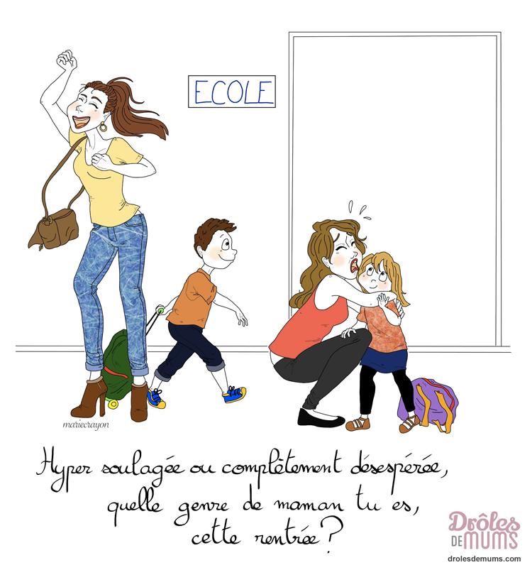 Le quotidien d 39 une maman le journal d 39 une maman - La rentree des mamans ...