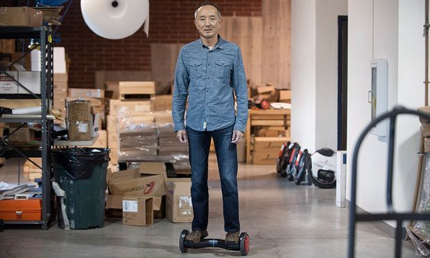 Inventor of the hoverboards