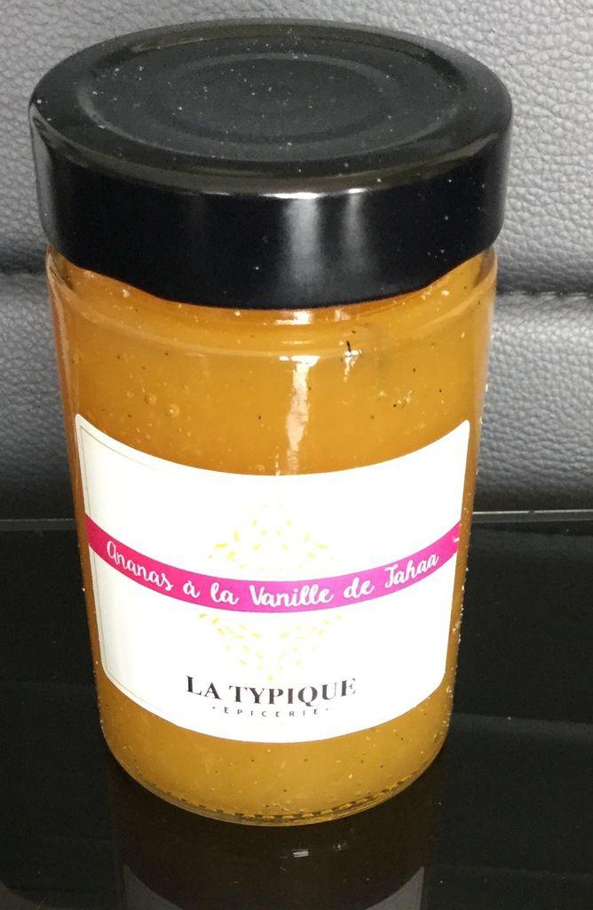 La Compotée Ananas à la Vanille de TAHAA ( vanille de Polynésie ) de 250g