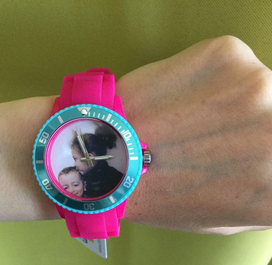 N'est telle pas jolie ma montre ?