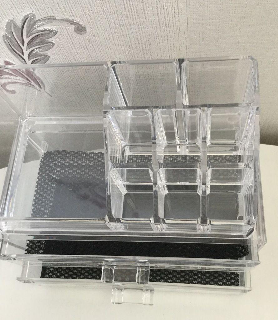 Test-avis - Coffret transparent pour maquillage et bijoux - Compactor -