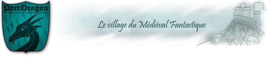 Village du médiéval fantastique
