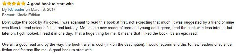 Book review Amazon