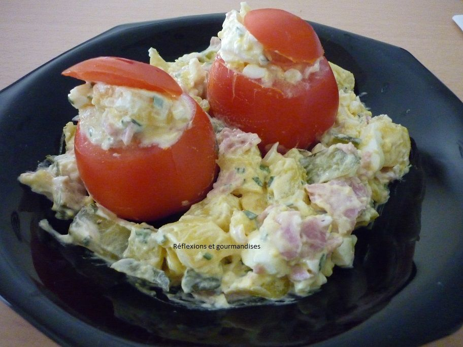 Tomates froides farcies