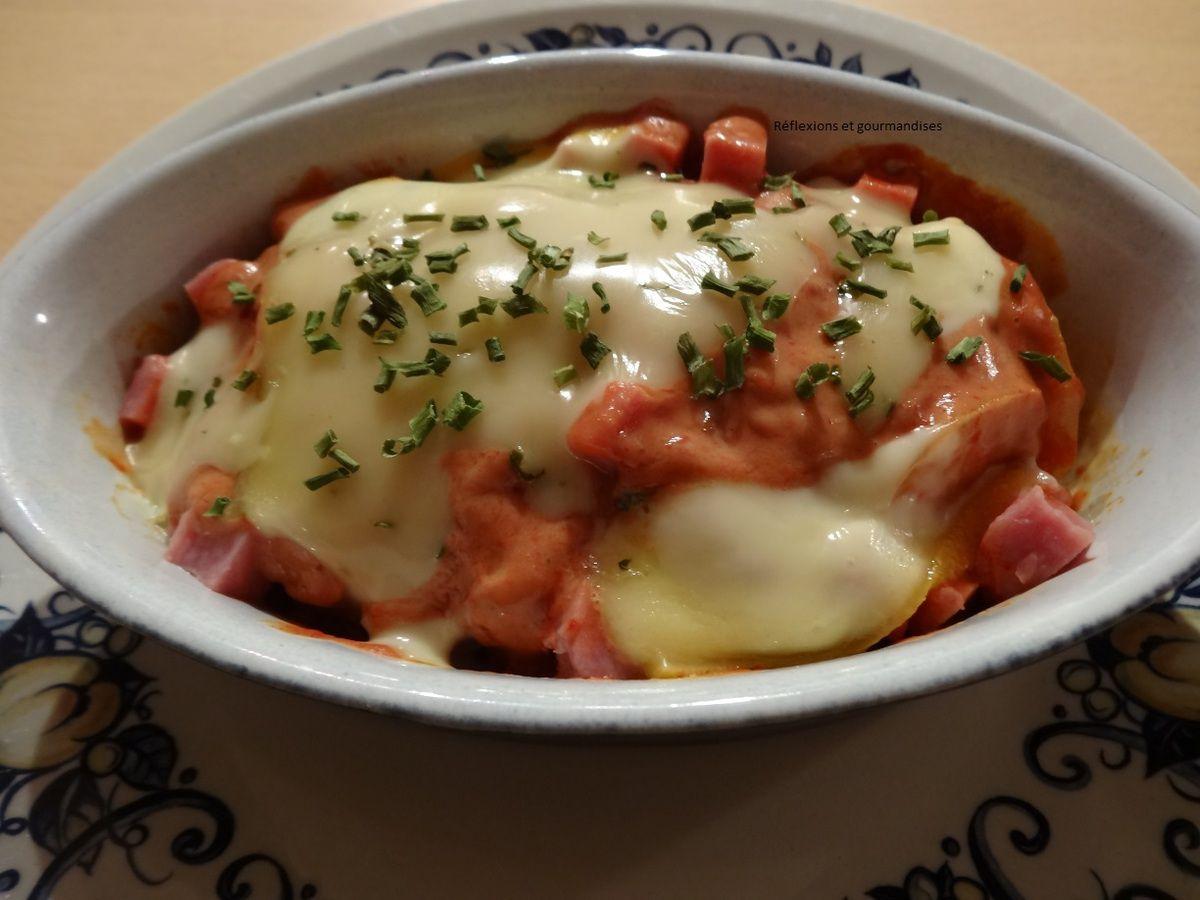 Gratin de pommes de terre tomatées