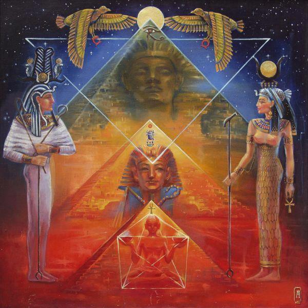 Partie 2 :Canalisation de la Déesse Isis et du Dieu Osiris- Leur Retour sur Terre et  des Vérités Mythiques.