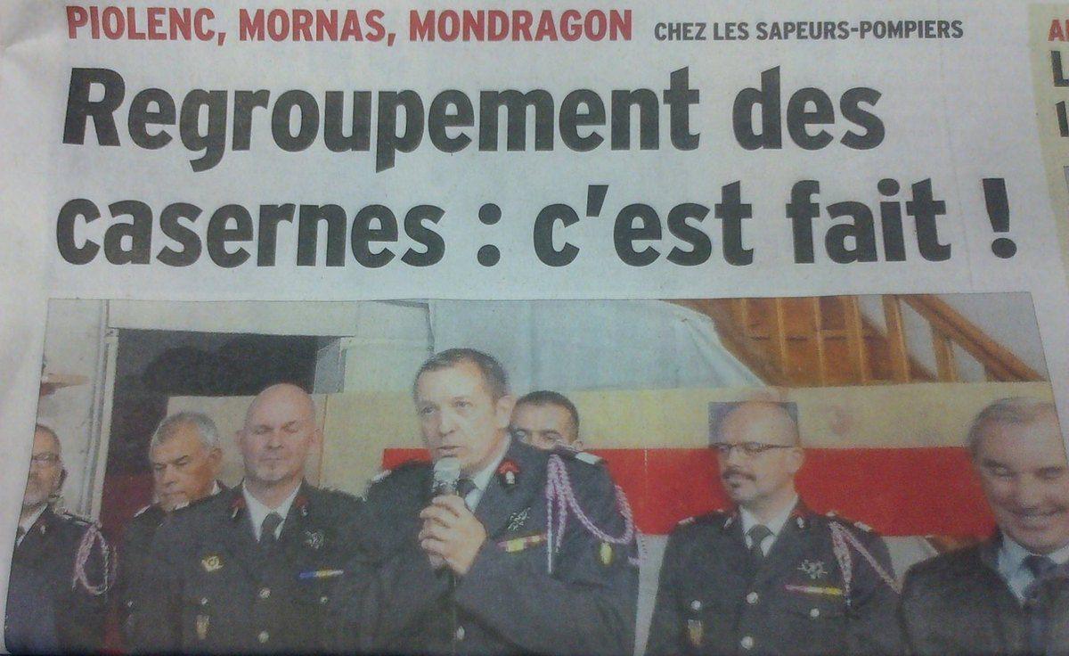 Caserne des Pompiers ce sera à MORNAS!