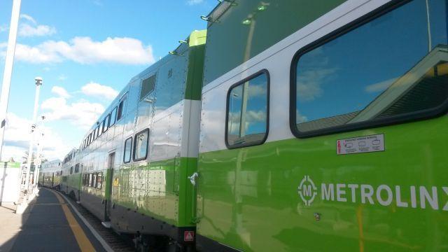 Le train pour Toronto