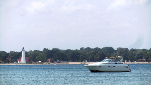 Les plages sur le lac Huron