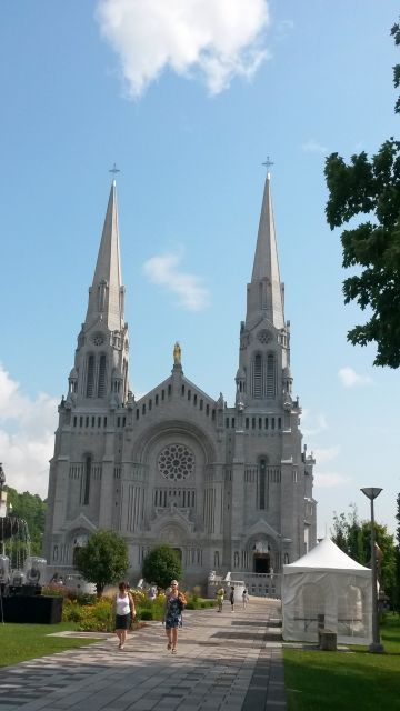 La basilique Sainte-Anne de Beaupré.