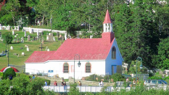 Le poste de traite Chauvin, le grand hôtel et la chapelle des Indiens