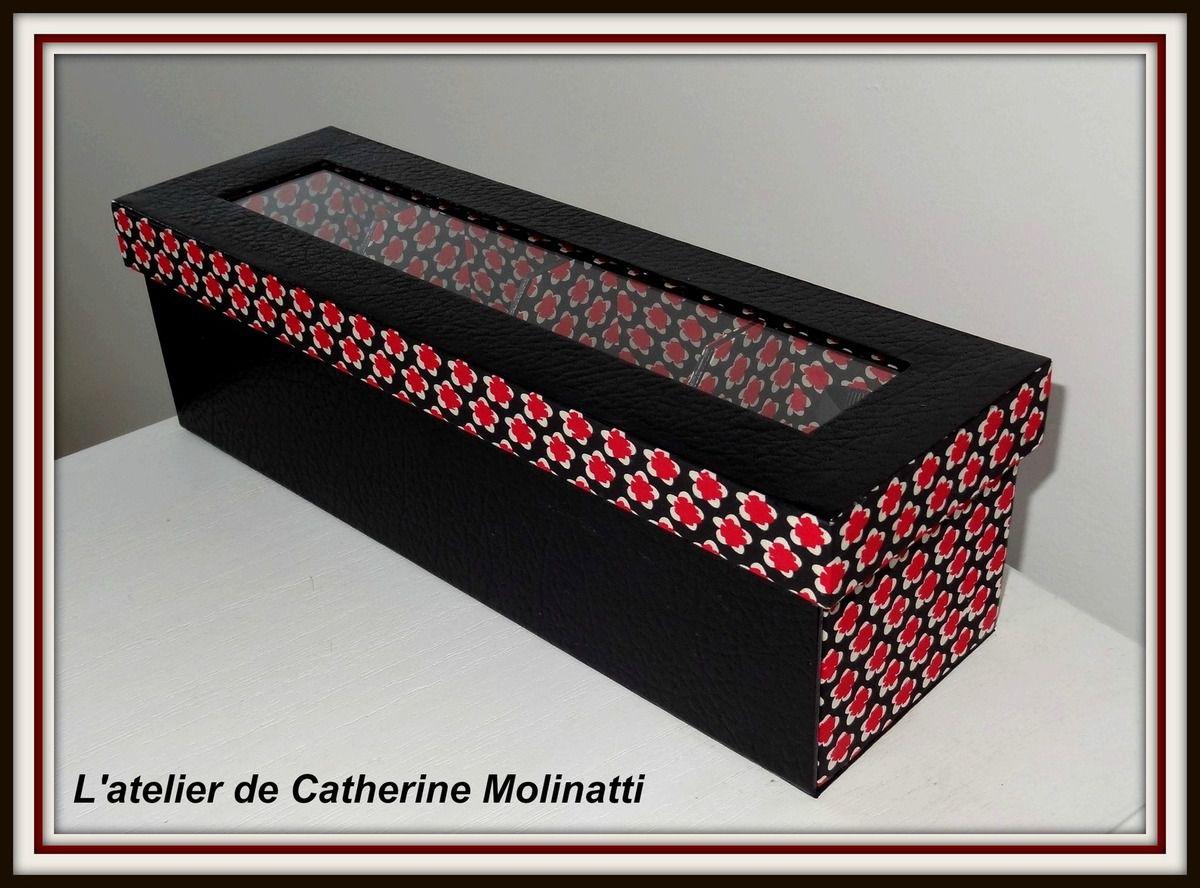 la boite th r gine l 39 atelier de catherine molinatti. Black Bedroom Furniture Sets. Home Design Ideas