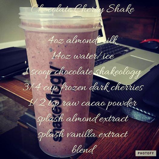 Chocolate Covered Cherry Shakeology