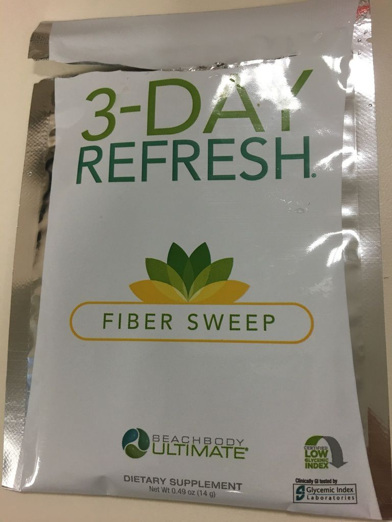 Day 1 of 3 Day Refresh