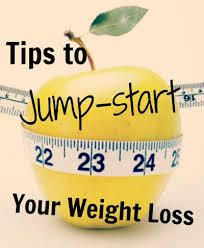 Tips to jump start weight loss