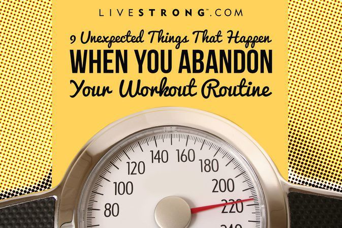 Just how quickly do you start to lose all the progress you've made when you stop working out?