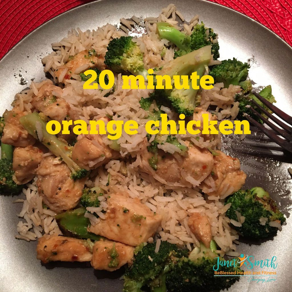 20 Minute Orange Chicken