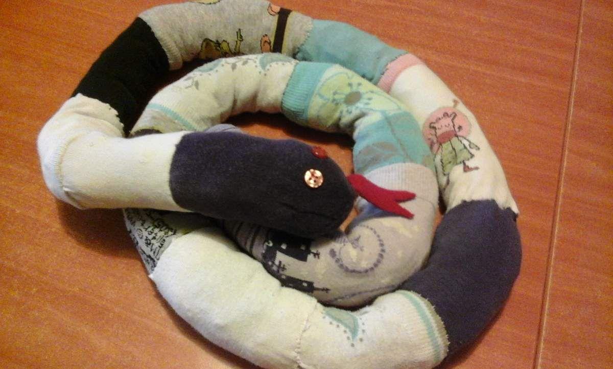 Serpent chaussette
