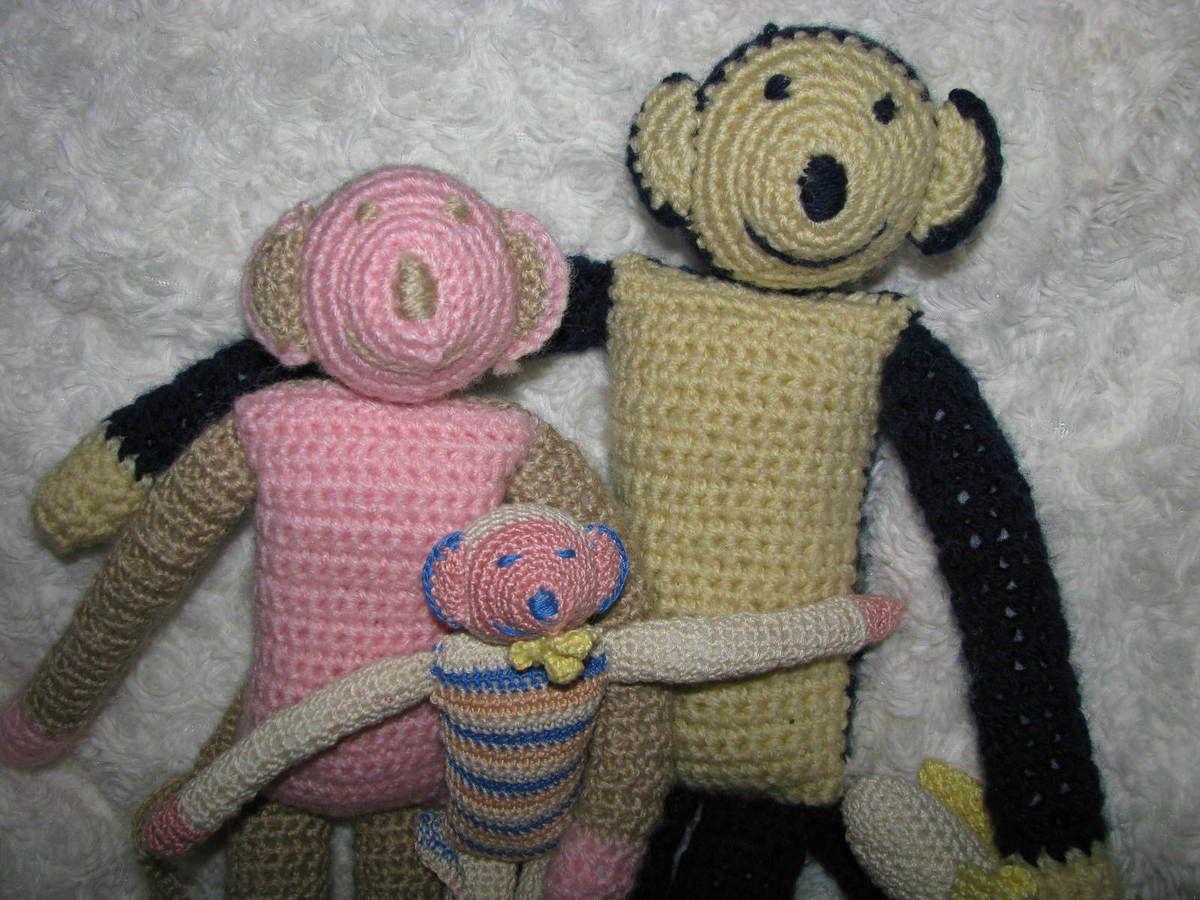 Famille singe