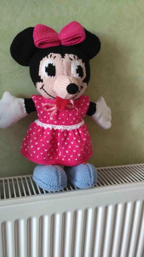 Minnie tricoté par Claudine